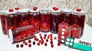 Aspirin ile Sakla Vişneyi & Kışın Ağrılarınıza Deva Olsun-Ritmik Mutfak Kış Hazırlıkları