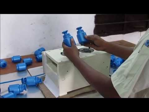 Neck Cutting Machine For Blow Molding Containers Mouth