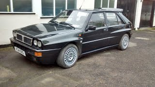 Lancia Delta Integrale Evo1 walkaround and test drive