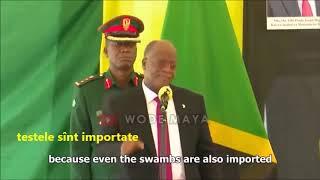 Președintele Tanzaniei: Testul coronavirus la capră și fruct a ieșit pozitiv
