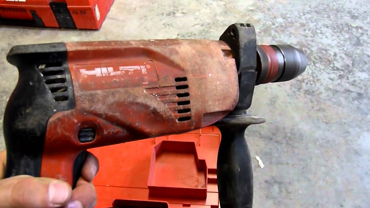 perceuse hilti sr 16 hilti sr 16 drill youtube