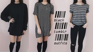 Cheap Black Tumblr Outfits