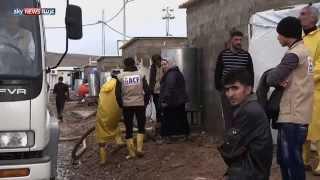 نقص المعونات يفاقم أزمة نازحي العراق