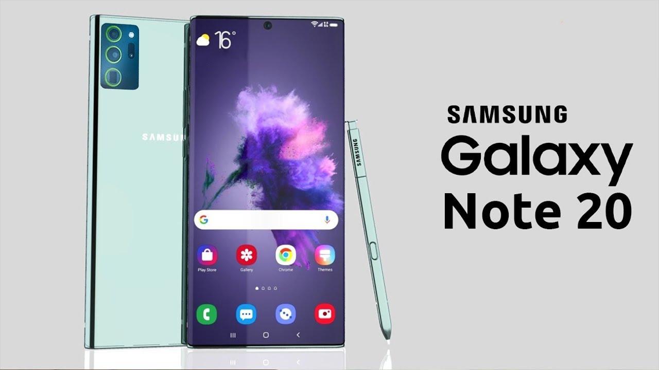 Samsung Galaxy Note 20 -  КОСМИЧЕСКАЯ МОЩЬ ОФИЦИАЛЬНО!