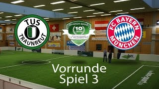 Spiel 03: TuS Traunreut 0-7 FC Bayern München │U12 Hallenmasters TuS Traunreut 2017