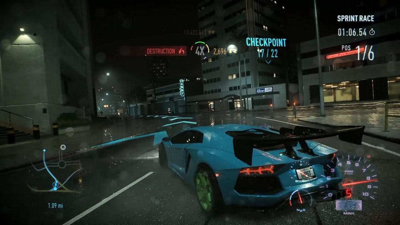 Hd Nfs Cars Wallpapers Need For Speed 2016 Pc Lamborghini Aventador Lp700 4