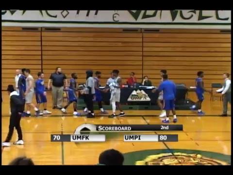 UMFK Men's Basketball vs. University of Maine at Presque Isle - December 12, 2018
