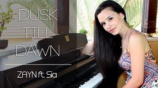 Download Lagu ZAYN - Dusk Till Dawn ft. Sia | Piano Cover + Sheet Music Mp3