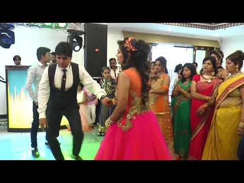 Best Brother dance on Mere Pyari Behaniya Banegi Dulhaniya -  Sister's engagement