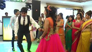 Best Brother dance on Mere Pyari Behaniya Banegi Dulhaniya -  Sister's engagement