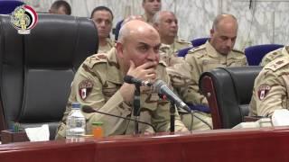 بالفيديو| الفريق أول صدقي صبحي يلتقي أبطال ومقاتلي القوات المسلحة