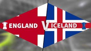 England - Iceland. Англия - Исландия.Обзор матча. Highlights.