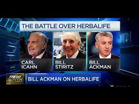 Bill Ackman 2016 Update on  Herbalife and Valeant FULL Inter