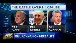 Bill Ackman 2016 Update on  Herbalife and Valeant FULL Interview
