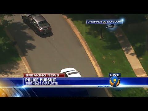 Charlotte NC Police Chase - June 16th 2017