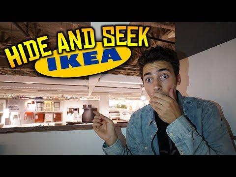 INTENSE HIDE AND SEEK IN IKEA!! (WORLDS BIGGEST STORE)