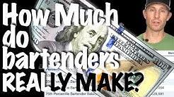 HOW MUCH DO BARTENDERS MAKE? - Bartending Pro