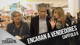 Emilio y Macarena encaran a vendedores | En su propia trampa | Temporada 2017