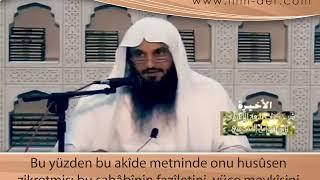Muâviye radıyallahu anhu Hakkında Ehl-i Sünnet İnancı