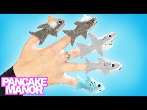 Baby Shark Finger Family ♫| Baby Shark Dance + Finger Family | Kids Songs by Pancake Manor