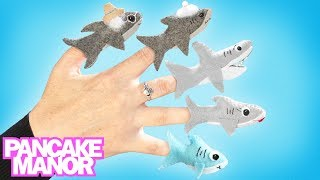 Baby Shark Finger Family ♫| Baby Shark Dance + Finger Family | Kids Songs by Pancake Manor