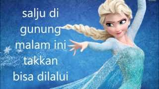 [3.33 MB] Disney FROZEN Let It Go in Bahasa Indonesia [cover]