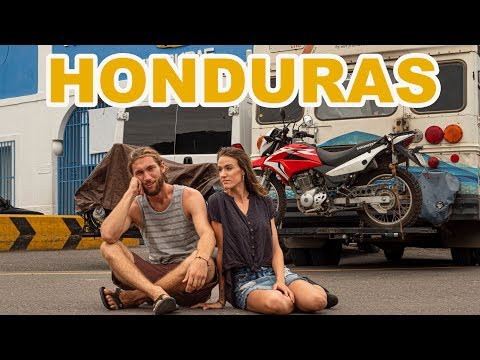 HONDURAS - the MOST DIFFICULT border to cross in the world