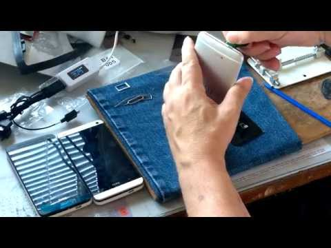 HTC One M7 easy to  battery cover removal