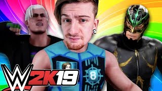 TOURNAMENT 1st ROUND 8-Bit Ryan vs. P1Ryan vs. The Great Tornado   WWE 2K19
