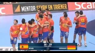 Europeo Júnior 2016 - Final ESP-GER