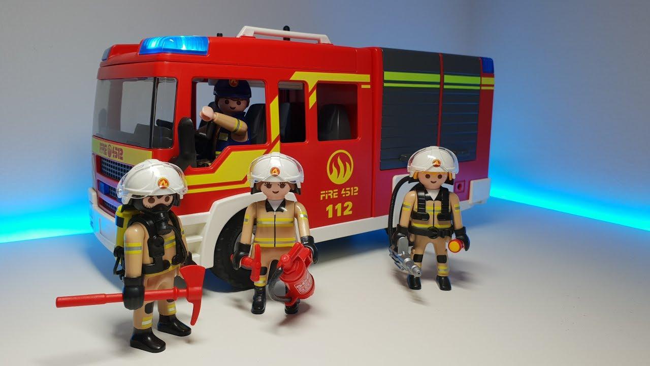 Playmobil Feuerwehr Youtube