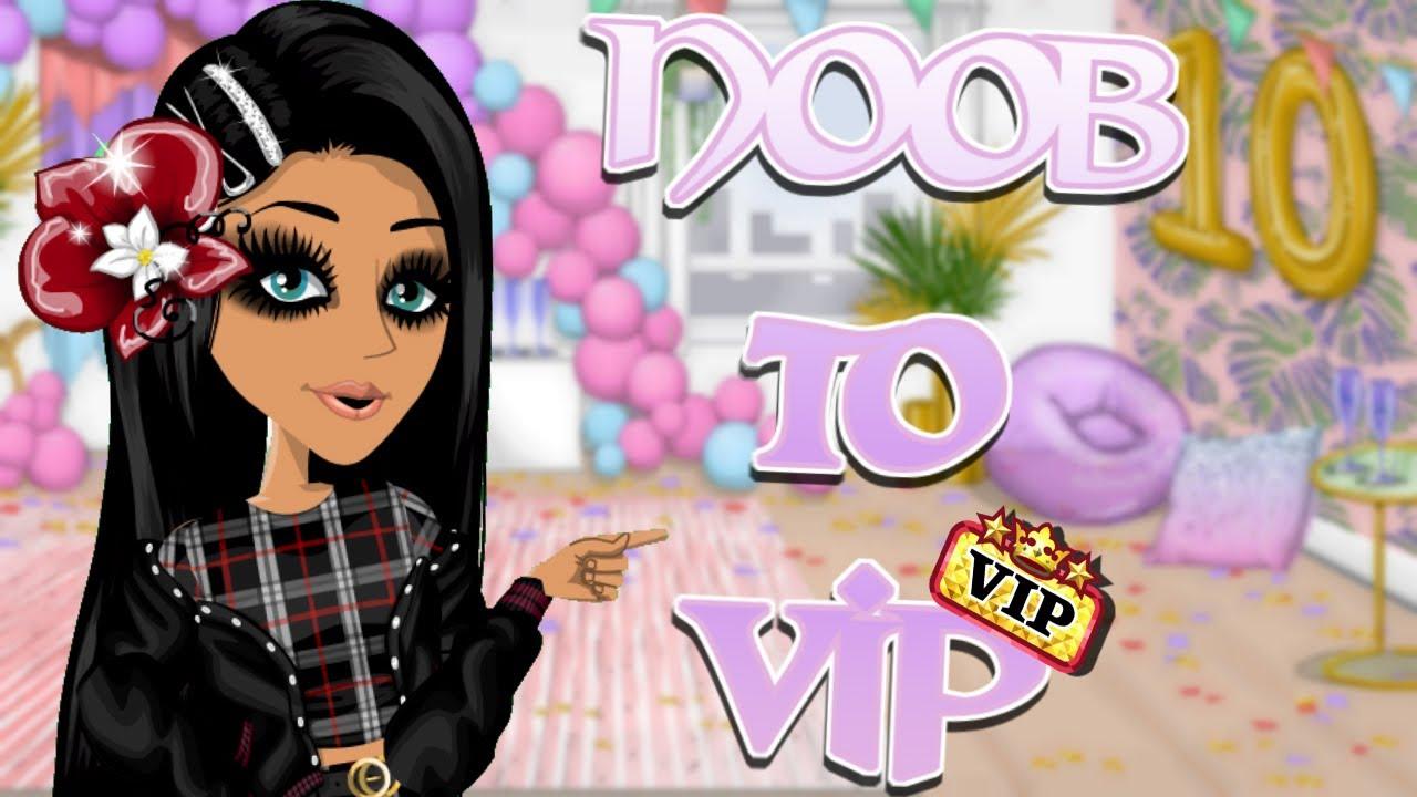 NOOB TO VIP MAKEOVER + FREE VIP ????   Kamelia MSP ♥