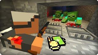 Он просто гений! [ЧАСТЬ 11] Зомби апокалипсис в майнкрафт! - (Minecraft - Сериал)