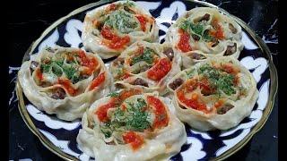 Узбекские манты / Как красиво лепить манты /Рецепты от узбечки