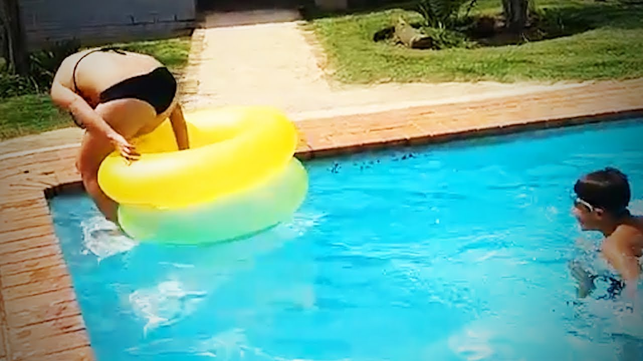 pool fails funny swimming pool fails epic life youtube
