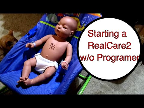 Starting a RealCare2 Baby Think it Over without the control Unit- Dolly Dreams Ep 92