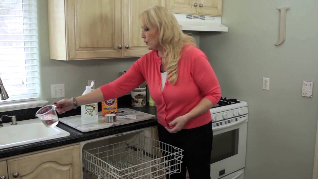 How Do I Clean My Dishwasher How To Clean Your Dishwasher Youtube