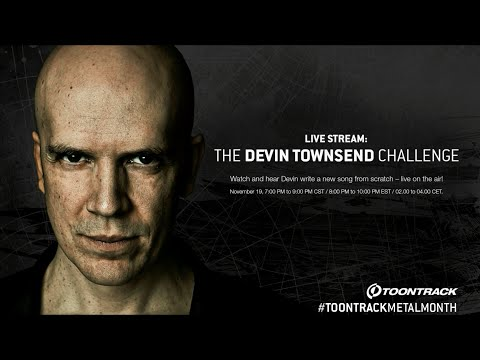 Toontrack presents: Devin Townsend live songwriting stream