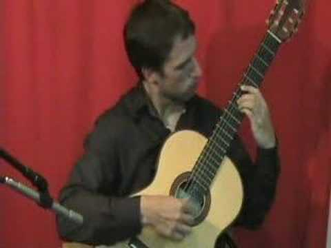 """Pachelbel´s Canon in D"" for Classical Guitar - www.elearnguitar.com"