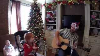 "The Christmas Waltz She and Him version if ""She"" was toddler-Kenny-G"