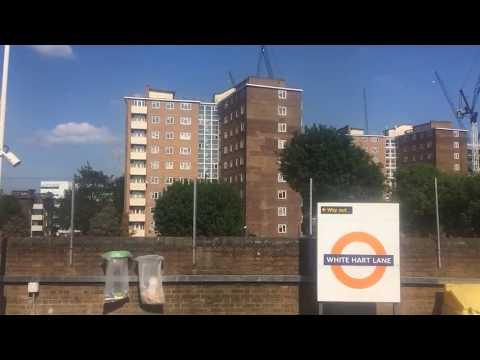 London Overground Class 315 Arriving White Hart Lane