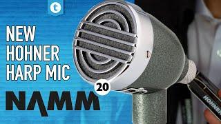 Hohner Harmonica NAMM 2020 | New harp microphone | Thomann