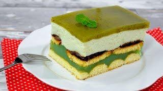 Ciasto Shrek bez pieczenia - Jak zrobić - Smakowite Dania