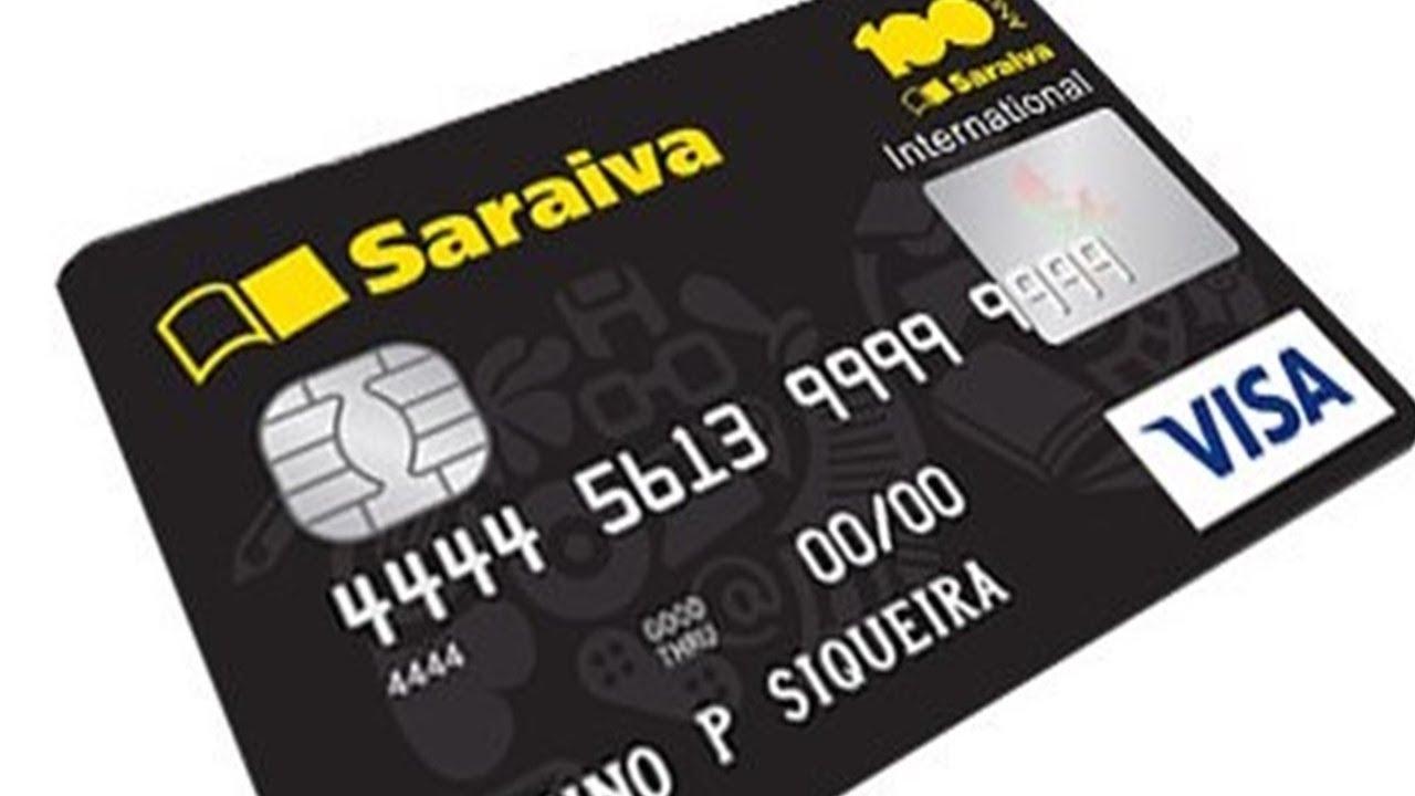 e5b491232 Cartão Visa Internacional Saraiva sem anuidade e fácil aprovação ...