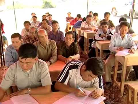 ໂຄງການຫ່ວງໄຍຮ່ວມໃຈພັດທະນາ ແຂວງຊຽງຂວາງ CRWRC Xiengkhouang 2007 video - Lao