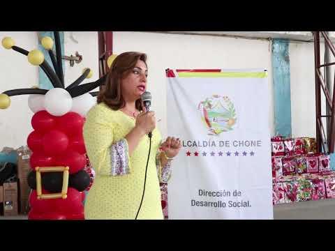 Agasajo Navideño recibieron adultos mayores de Chone, convenio GAD-MIES