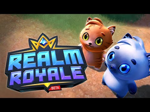 CUTE CATS NOW in Realm Royale!