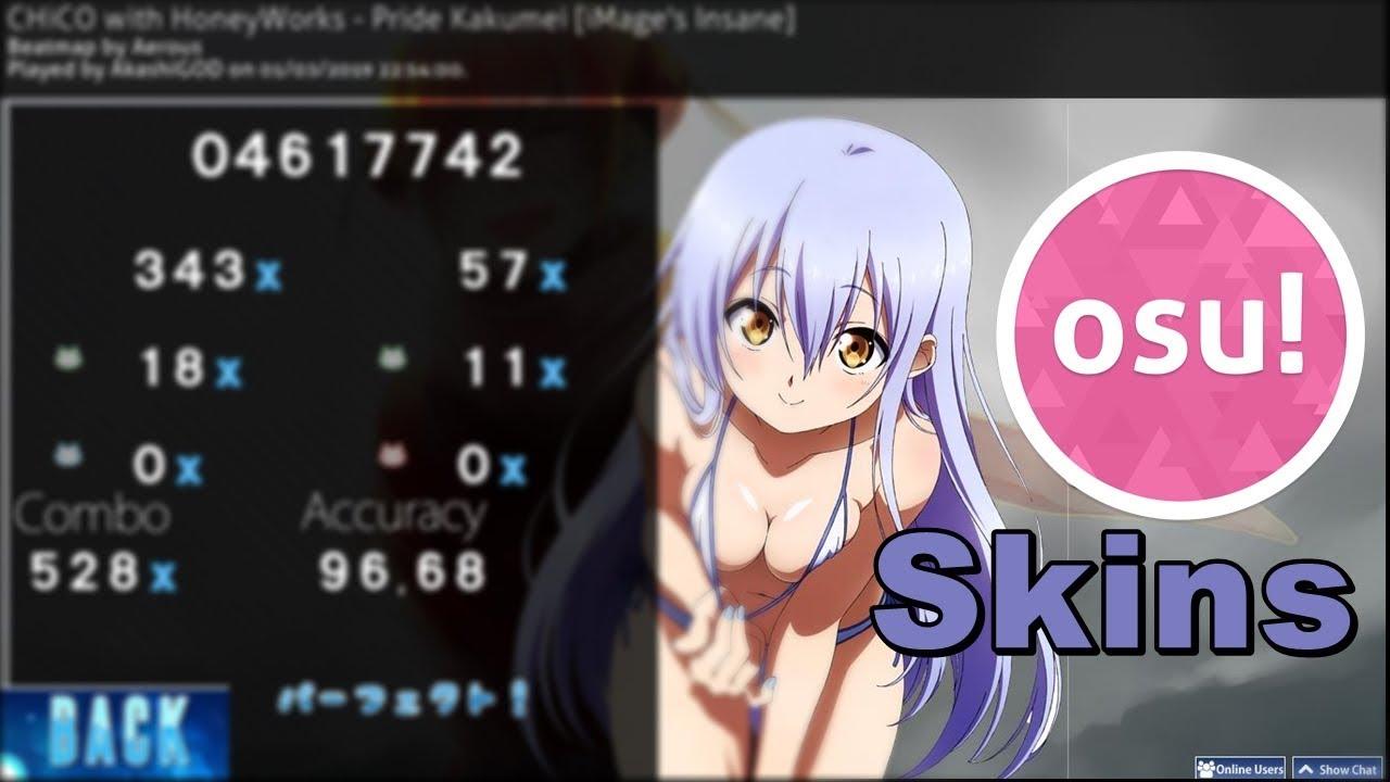 TOP 5 OSU! SKINS #2 - YouTube