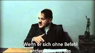 Hitler is informed (real subtitles on german)
