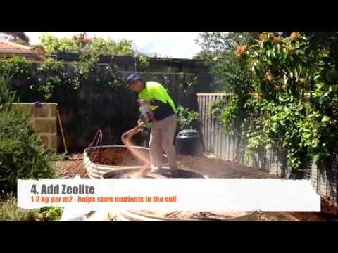 how to prepare a vegetable garden